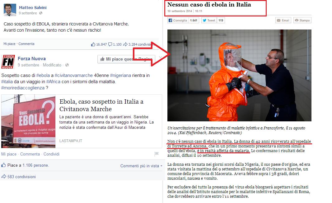 Salvini - ebola
