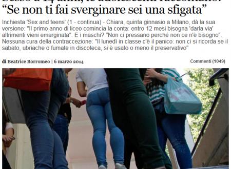 Vergini sfigate e adolescenti indemoniate. Inchieste di cui potremmo fare a meno