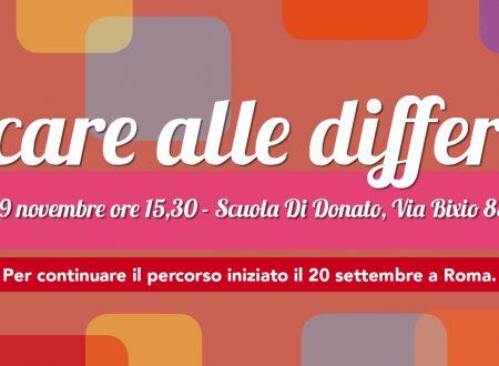 #EducareAlleDifferenze 29 Novembre incontri a Roma e Firenze