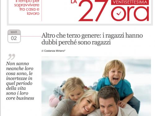Lettera aperta alla 27esima ora. Perchè pubblicare Costanza Miriano?