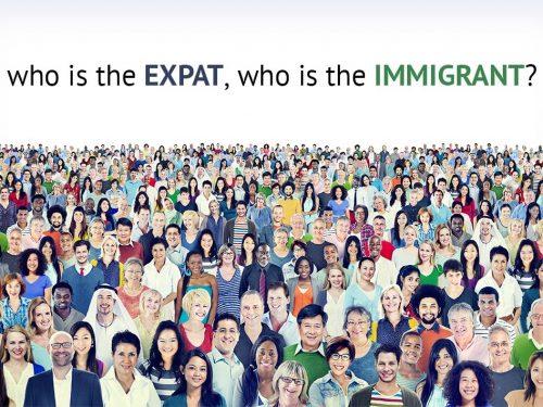 Perché i bianchi sono espatriati e il resto sono immigrati?