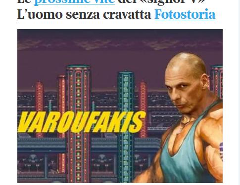 L'ossessione (sessista) dei media per Varoufakis