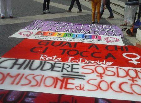 #Cambiamoilfinale Sostegno ai centri antiviolenza romani