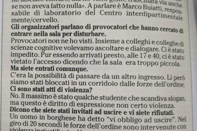 La Lega getta la maschera anche in Trentino: Stato di polizia e (dis)valori fascisti
