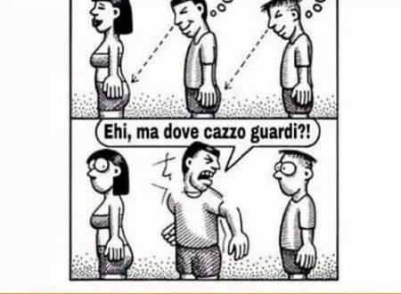 La vignetta che fa incazzare di brutto i maschi