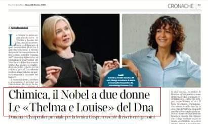 Thelma & Louise, Nobel e la rappresentazione delle donne sui giornali